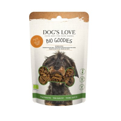 Dogs Love Bio Goodies Hundesnack mit Pute