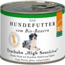 Defu Bio Truthahn High Sensitive Nassfutter für Hunde,...