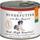 Defu Bio Rind High Sensitive Nassfutter für Hunde,...