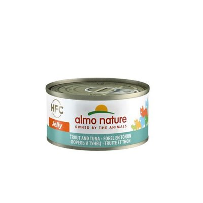 Almo Nature HFC Jelly Forelle mit Thunfisch 70g