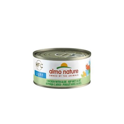 Almo Nature HFC Light Huhn mit Aloe 70g