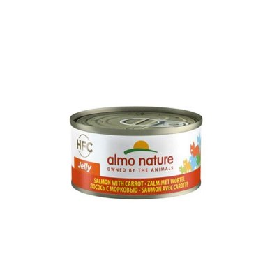 Almo Nature HFC Jelly Lachs mit Karotte 70g