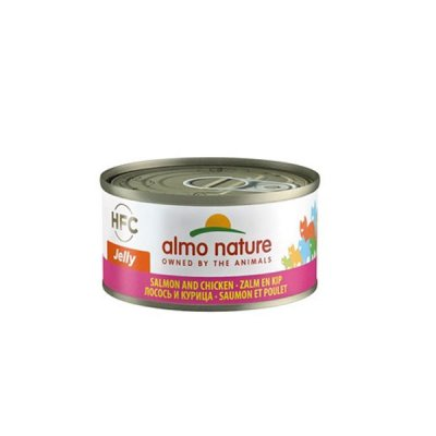 Almo Nature HFC Jelly Lachs mit Huhn