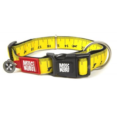 Max & Molly Smart ID Hundehalsband Ruler S