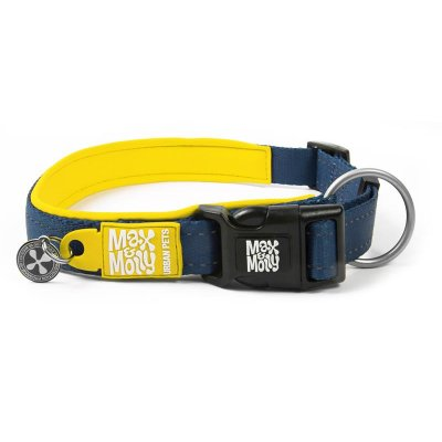 Max & Molly Smart ID Halsband Matrix Yellow