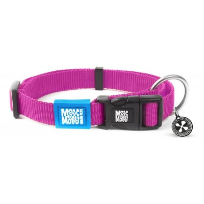 Max & Molly Smart ID Halsband Pure Pink XS