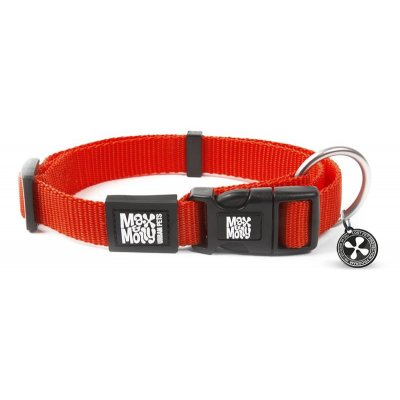 Max & Molly Smart ID Halsband Pure Red
