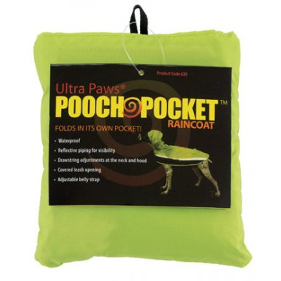 Ultra Paws Pooch Pocket Regenmantel