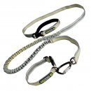 EQDOG Jogging Leash Leine Grau / Grün