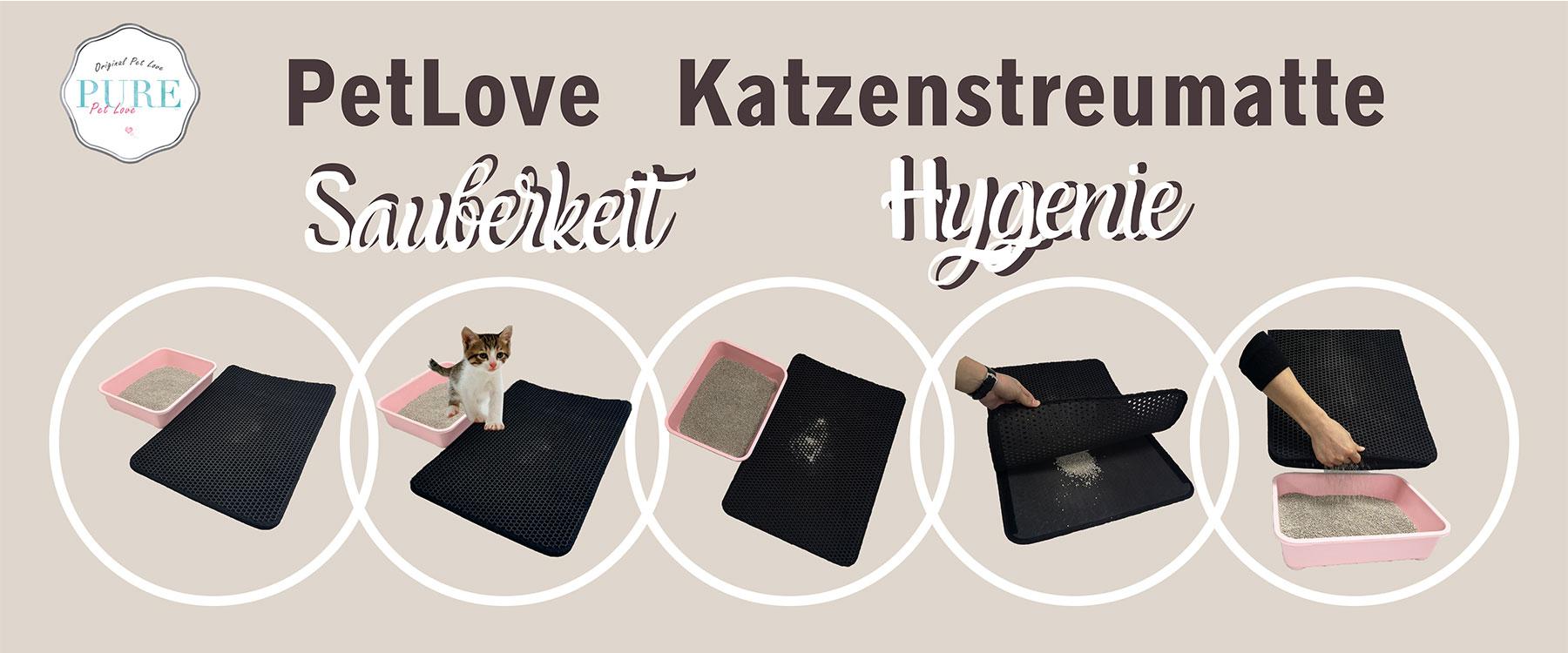 PetLove Katzenstreumatte